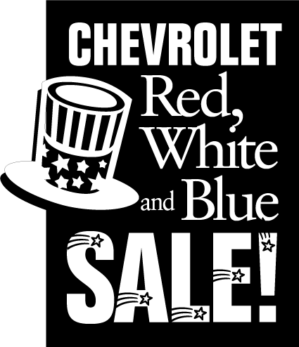 free vector Chevrolet Red White Blue