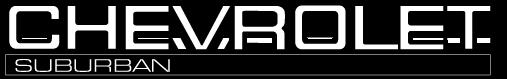 free vector Chevrolet Suburban logo