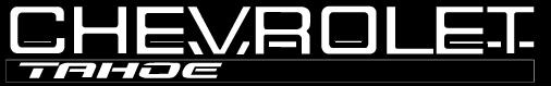 free vector Chevrolet Tahoe logo