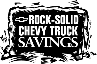 free vector Chevrolet Truck Savings