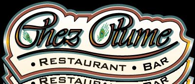 free vector Chez Plume logo