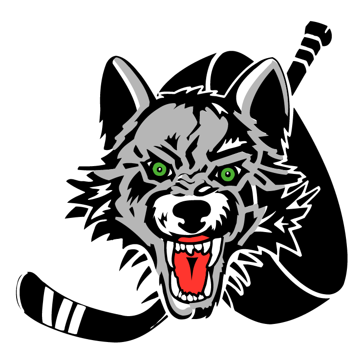 free vector Chicago wolves