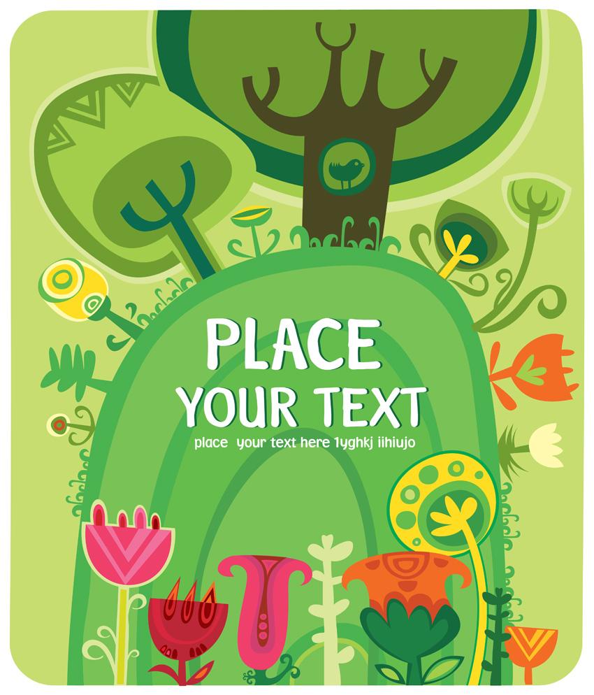 free vector Children illustrator vector cute