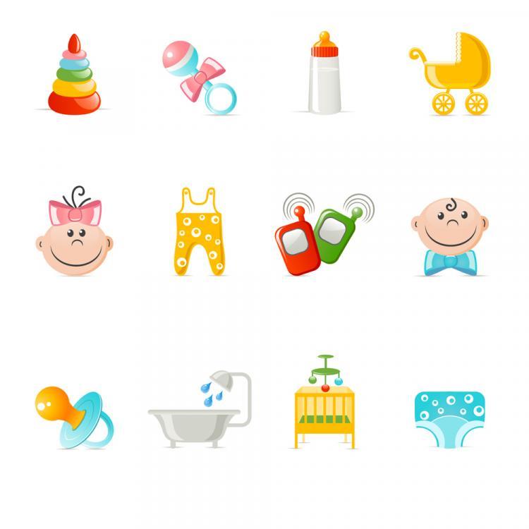free vector Children illustrator vector