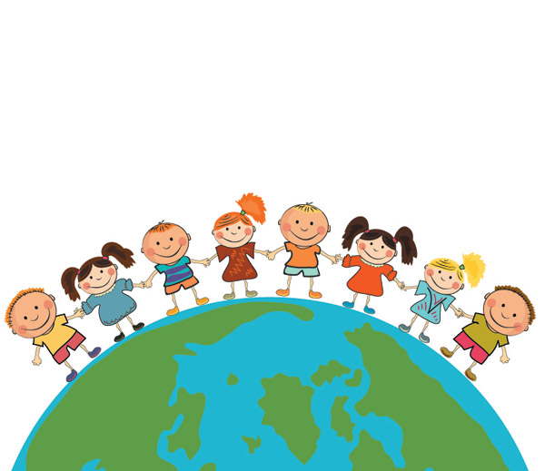 free vector Children theme vector