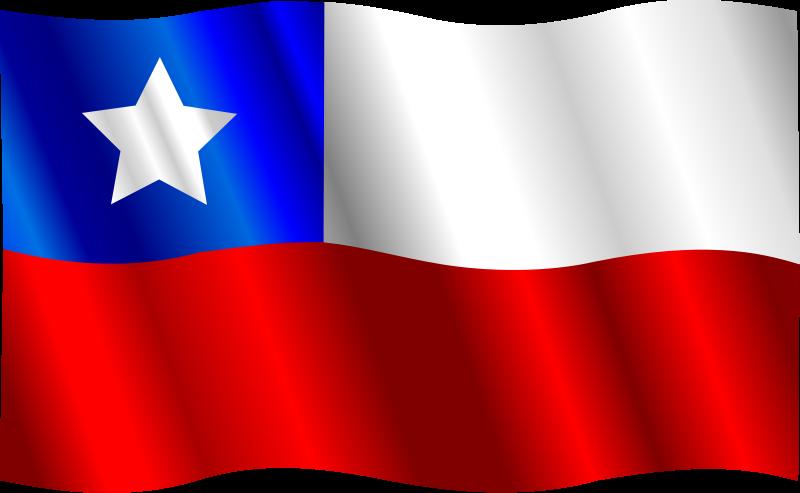 free vector Chilean Flag