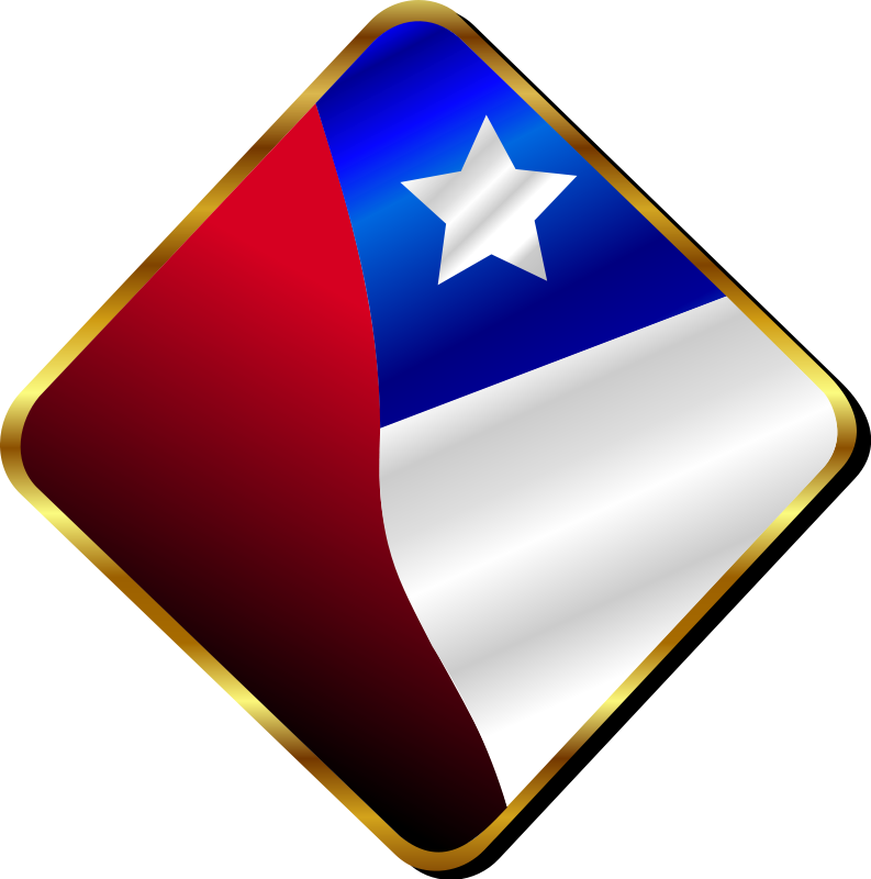 free vector Chilean Pin