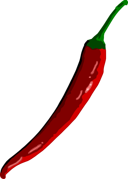 free vector Chili clip art