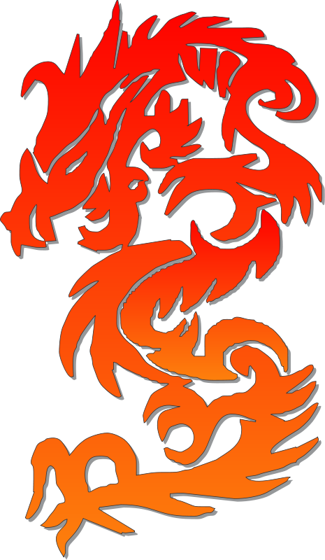 free vector Chinese Dragon