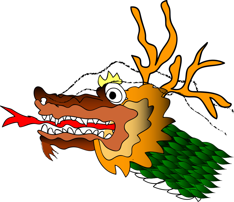 free vector Chinese Dragron