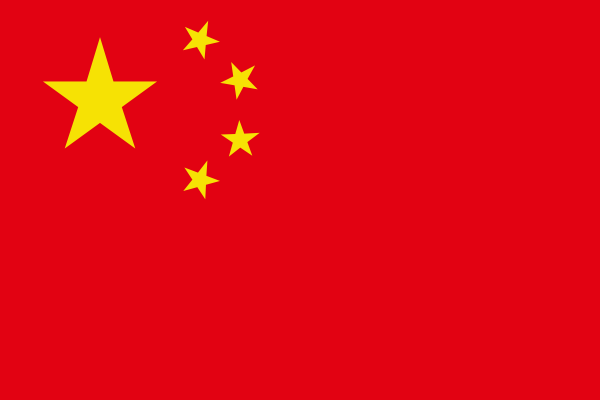 free vector Chinese Flag (correct) clip art