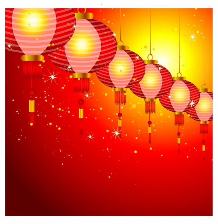 chinese new year background design with lanterns 133685 free ai eps download 4 vector chinese new year background design with