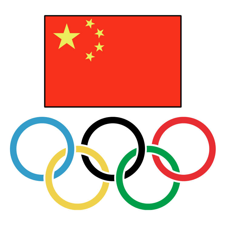 free vector Chinese olympic committee