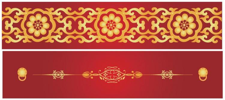 Chinese style pattern vector free vector 4vector for Chinese vector