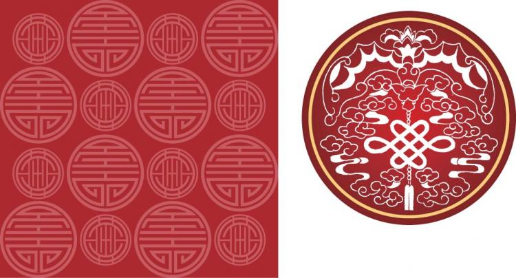 Chinese Patterns Vector Chinese Style Pattern Vector