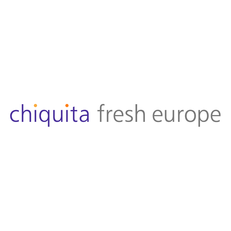 free vector Chiquita fresh europe
