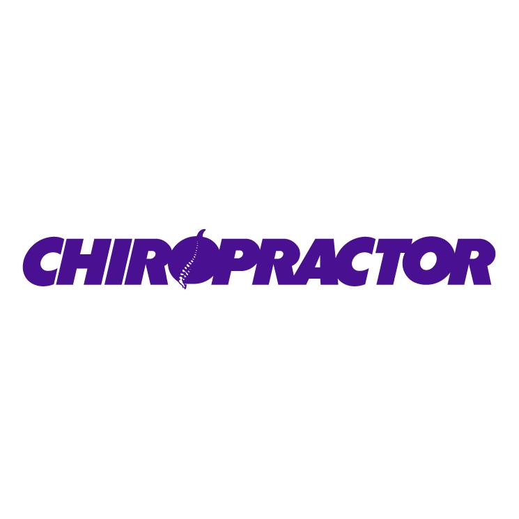 free vector Chiropractor