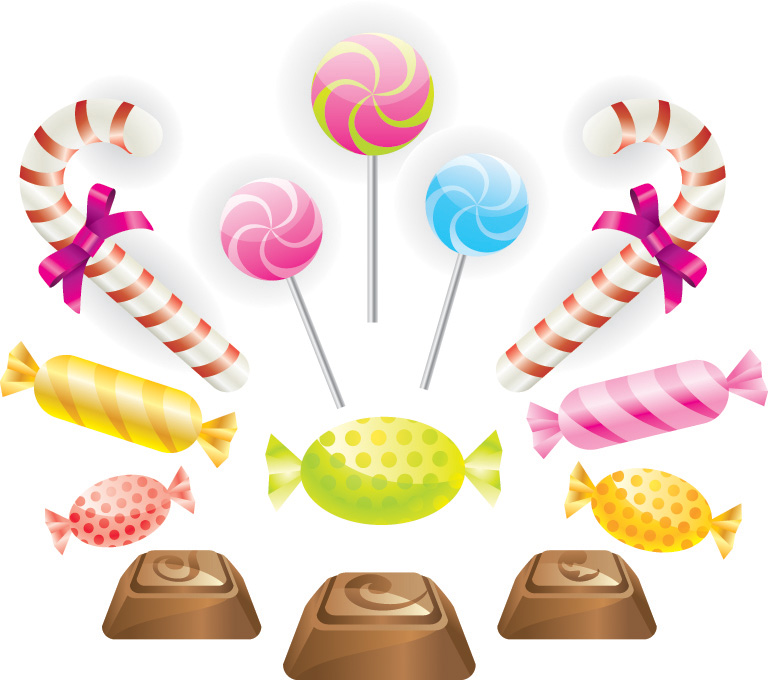 free vector Chocolate Candy Vectors