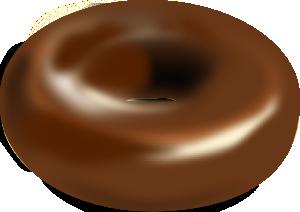 free vector Chocolate Donut clip art
