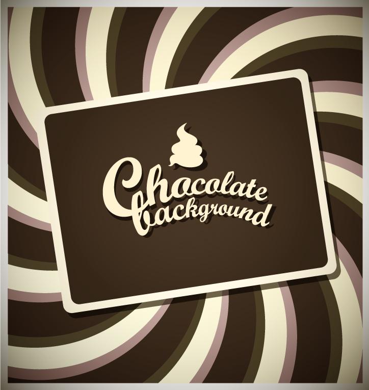 free vector Chocolate ice cream elements vector