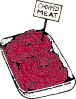free vector Chopped Meat clip art