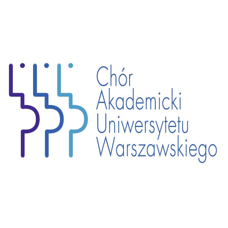 free vector Chor akademicki uniwersytetu warszawskiego
