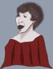free vector Choral Singer clip art