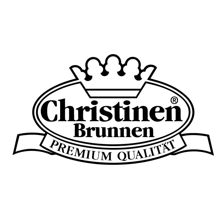 free vector Christien brunnen
