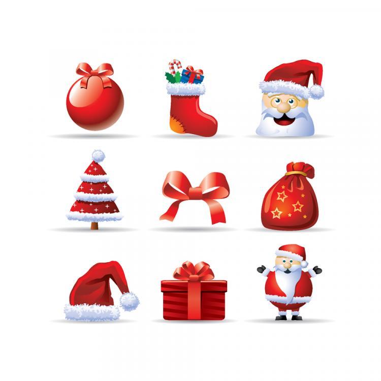 free vector Christmas 01 vector