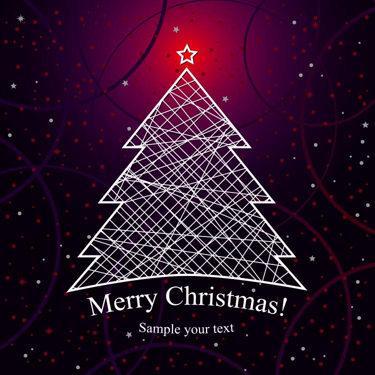 Christmas background 02 vector Free Vector / 4Vector