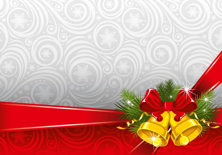 christmas background 03 vector free vector / 4vector