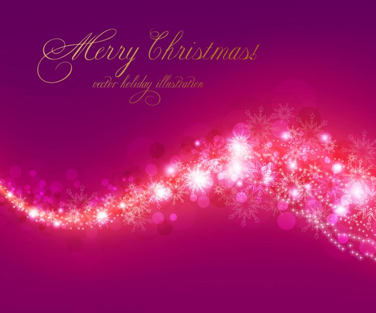 free vector Christmas background 04 vector