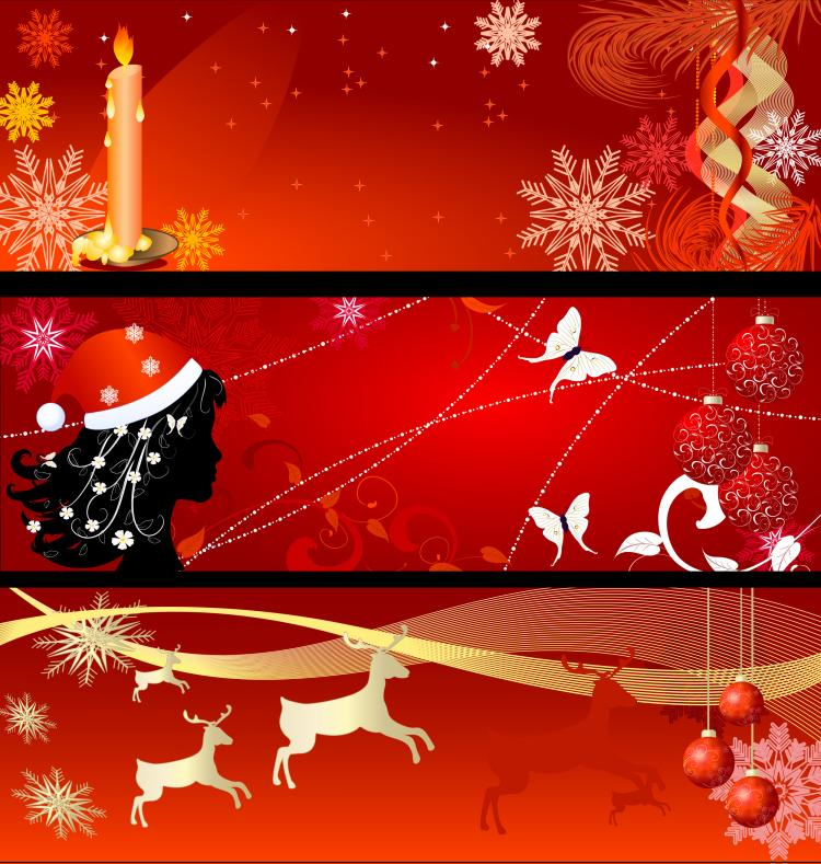 Christmas Banner Christmas background banner