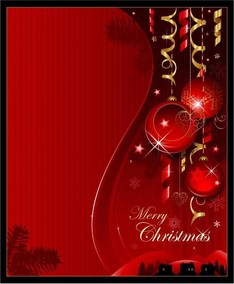 free vector Christmas background banner vector