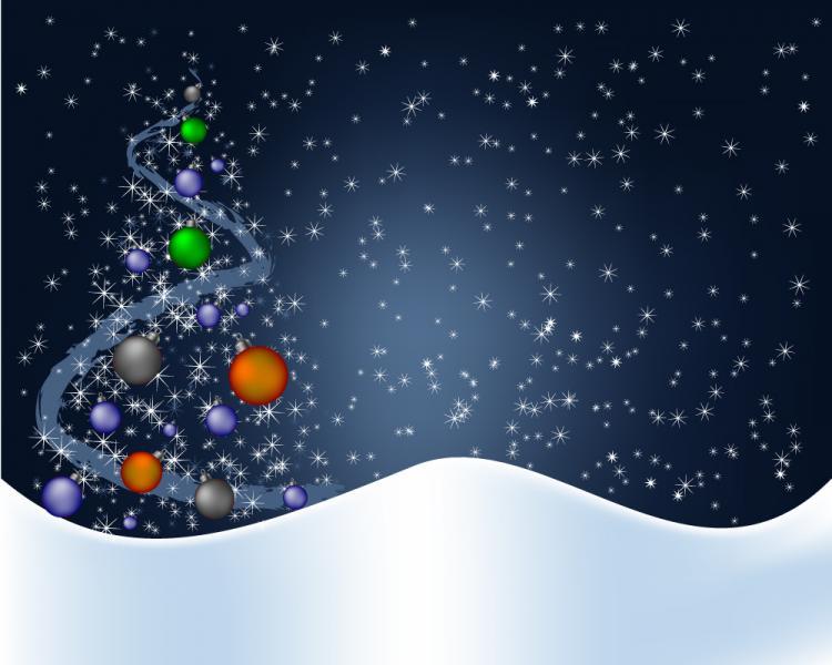 Christmas background vector spot free vector 4vector for Natale immagini per desktop
