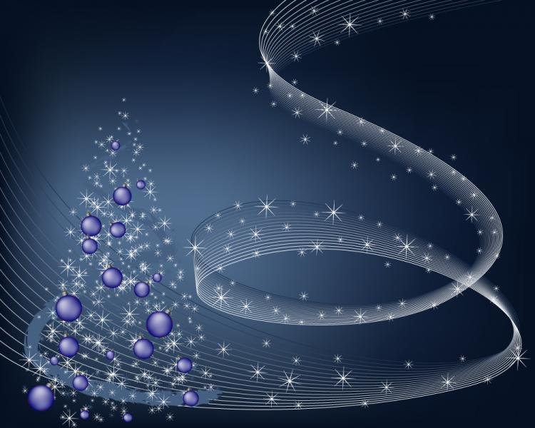 free vector Christmas background vector spot