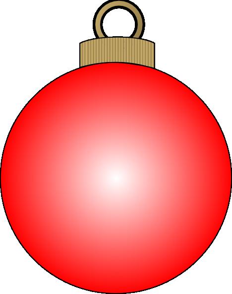 Christmas Ball clip art Free Vector / 4Vector