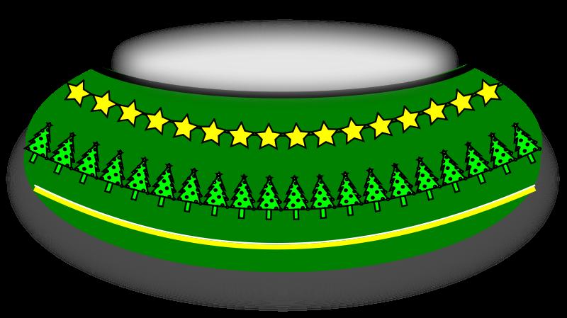 free vector Christmas Bowl