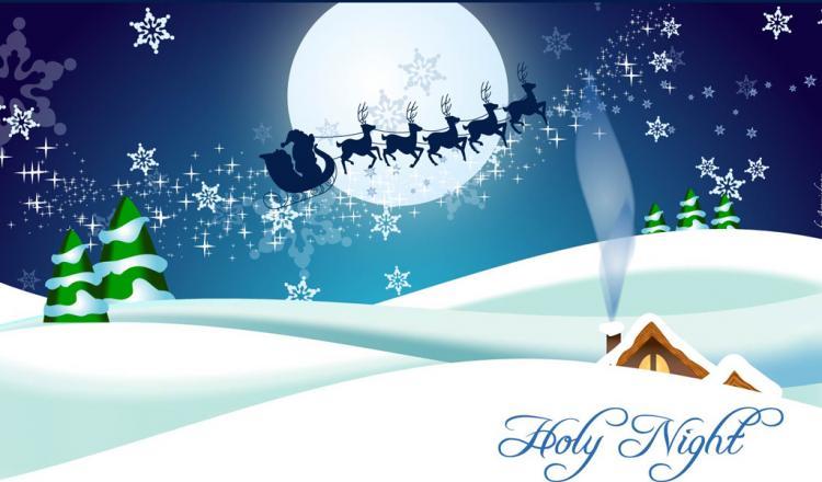 free vector Christmas Card 2.