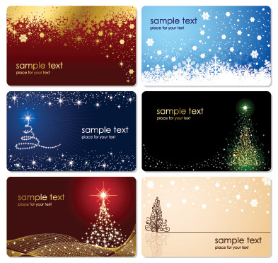 free vector Christmas card background vector