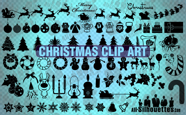 christmas clipart vector - photo #39