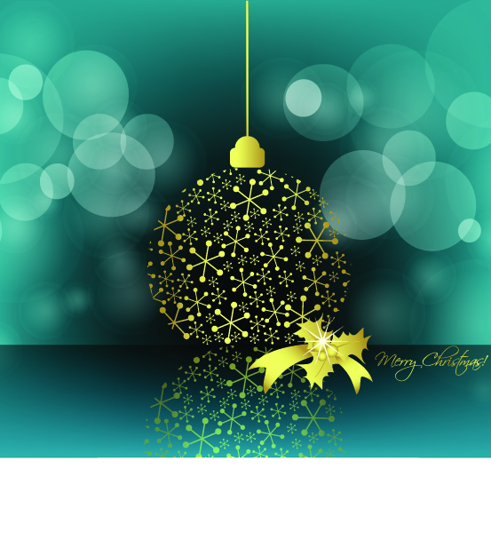 free vector Christmas decorative elements vector