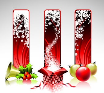 free vector Christmas design elements 07 vector