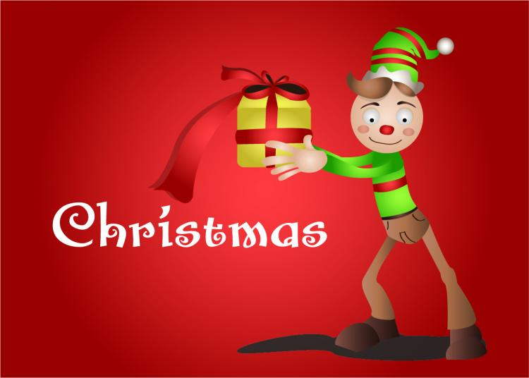 free vector Christmas Duend