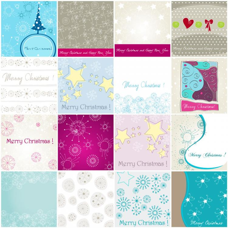 free vector Christmas elements of 02 vector