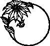 free vector Christmas Flower clip art