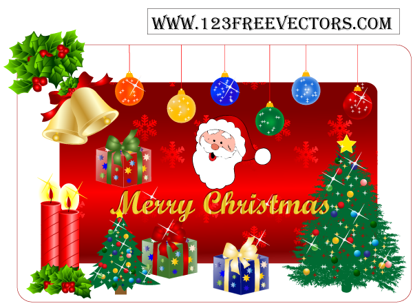 free vector Christmas Gift Free Vector Pack