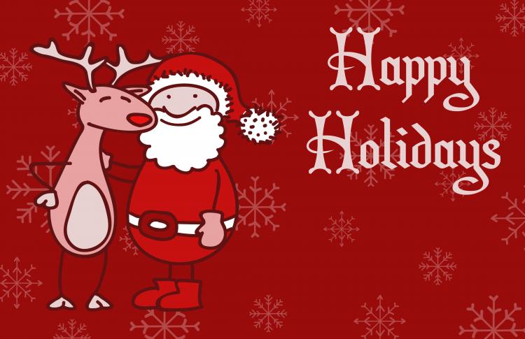 Christmas Greeting Card 5 Free Vector / 4Vector