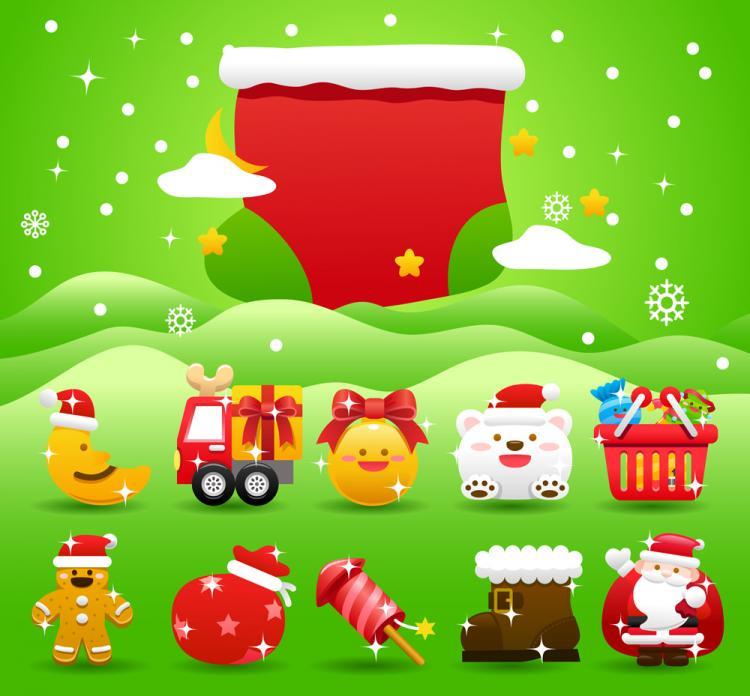 free vector Christmas holiday 05 vector