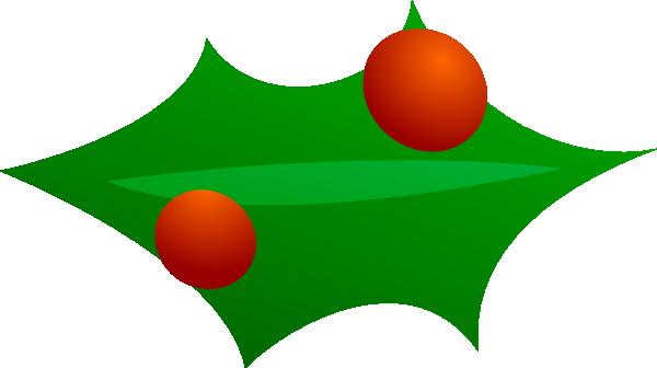 Christmas Leaf Decoration clip art Free Vector / 4Vector